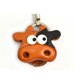 Cow(small) Leather Animal Figuine/charm Chinese Zodiac Series