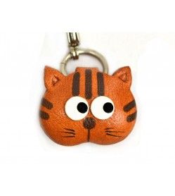Cat(small) Leather Animal Figuine/charm