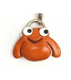 Frog(small) Leather Aniaml Figuine/charm