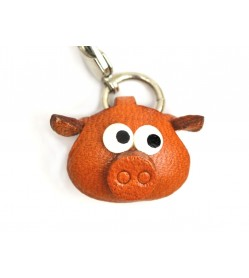 Pig(small) Leather Animal Figuine/charm