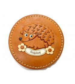 Hedgehog compact mirror #26687