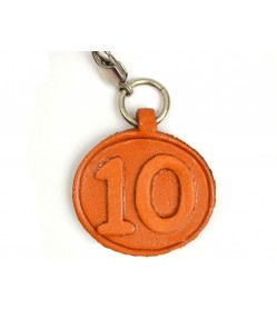 No.10 Leather Plate Birth date Series