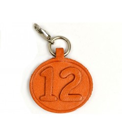 No.12 Leather Plate Birth date Series