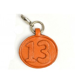 No.13 Leather Plate Birth date Series
