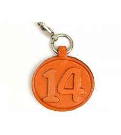 No.14 Leather Plate Birth date Series
