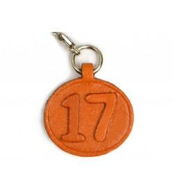 No.17 Leather Plate Birth date Series