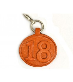 No.18 Leather Plate Birth date Series