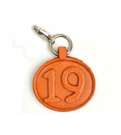 No.19 Leather Plate Birth date Series