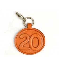 No.20 Leather Plate Birth date Series
