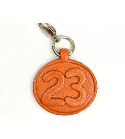 No.23 Leather Plate Birth date Series