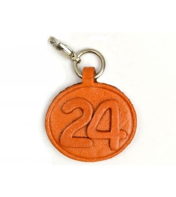 No.24 Leather Plate Birth date Series