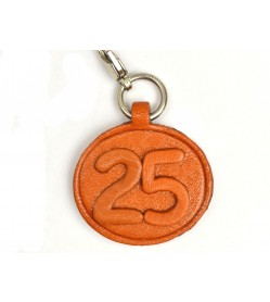 No.25 Leather Plate Birth date Series