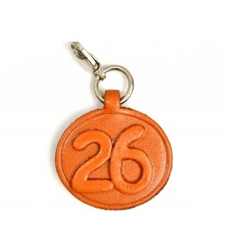 No.26 Leather Plate Birth date Series