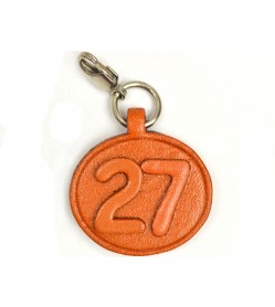 No.27 Leather Plate Birth date Series