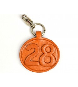 No.28 Leather Plate Birth date Series