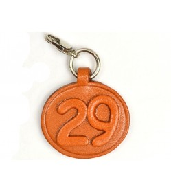 No.29 Leather Plate Birth date Series