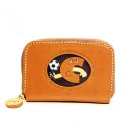 Soccer C Handmade Genuine Leather Animal Business Card Case #26167