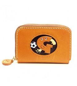 Soccer G Handmade Genuine Leather Animal Business Card Case #26170