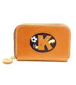 Soccer K Handmade Genuine Leather Animal Business Card Case #26174
