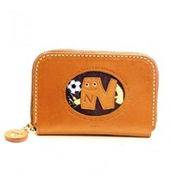 Soccer N Handmade Genuine Leather Animal Business Card Case #26176