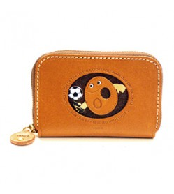 Soccer O Handmade Genuine Leather Animal Business Card Case #26177