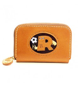 Soccer R Handmade Genuine Leather Animal Business Card Case #26178