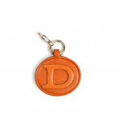 D Leather Alphabet Plate