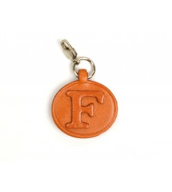 F Leather Alphabet Plate