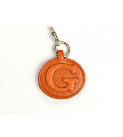 G Leather Alphabet Plate