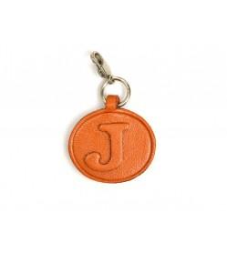 J Leather Alphabet Plate