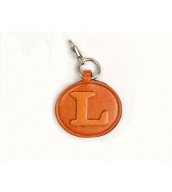 L Leather Alphabet Plate