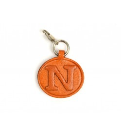 N Leather Alphabet Plate