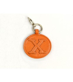 X Leather Alphabet Plate