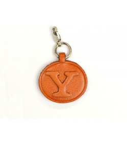 Y Leather Alphabet Plate