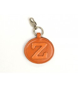 Z Leather Alphabet Plate