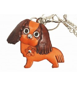 Cavalier kc Spaniel Handmade Leather Dog/Bag Charm