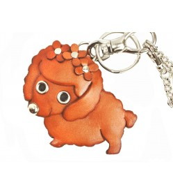 Toy Poodle Handmade Leather Dog/Bag Charm