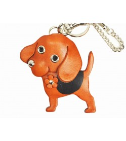 Beagle Handmade Leather Dog/Bag Charm