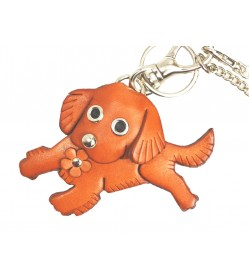 Golden Retriever Handmade Leather Dog/Bag Charm