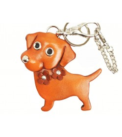 Labrador Retriever Handmade Leather Dog/Bag Charm