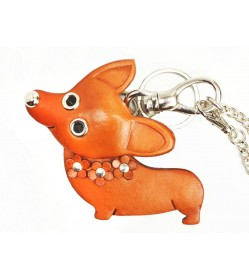 Welsh Corgi Handmade Leather Dog/Bag Charm