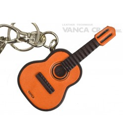 Guitar Handmade Leather Goods/Bag Charm