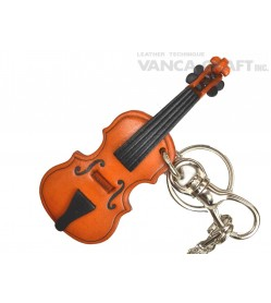 Violin Handmade Leather Goods/Bag Charm