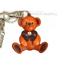 Teddy Bear Handmade Leather Goods/Bag Charm