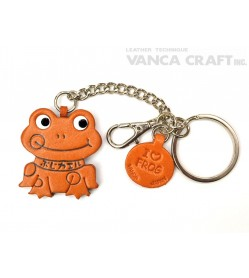 Frog Leather Ring Charm #26054
