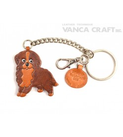 Bernese Mountain Dog Leather Ring Charm #26057
