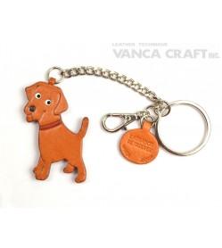 Labrador Retriever Leather Ring Charm #26064