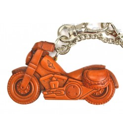 Chopper Bike Leather Goods/Bag Charm