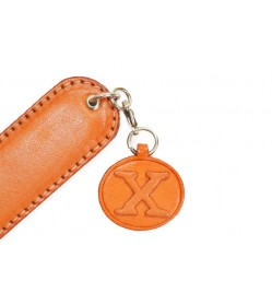 Initial X Leather Paper Knife