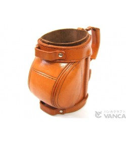 Golf Bag Handmade Leather Eyeglasses Holder/Stand #26223